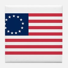 Cute Revolutionary war Tile Coaster
