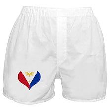 Filipino Heart Flag Boxer Shorts