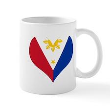 Filipino Heart Flag Mug