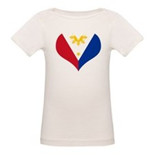 Filipino Heart Flag Tee