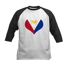 Filipino Heart Flag Tee