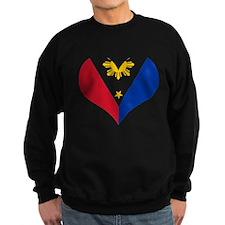 Filipino Heart Flag Sweatshirt