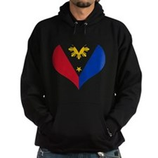 Filipino Heart Flag Hoody