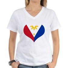 Filipino Heart Flag Shirt