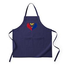 Filipino Heart Flag Apron (dark)
