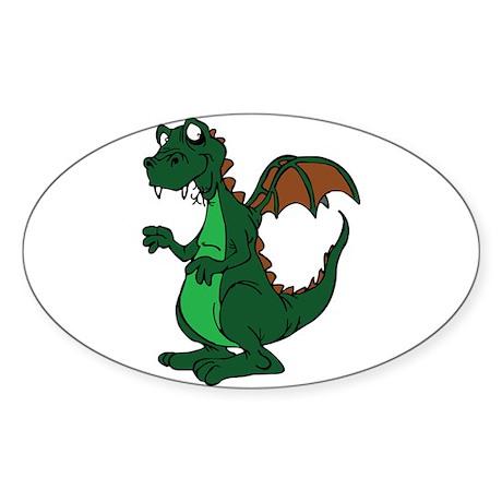 Oval Sticker (50 pk)