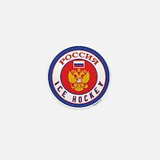 RU Russia/Rossiya Hockey Mini Button