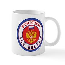 RU Russia/Rossiya Hockey Mug