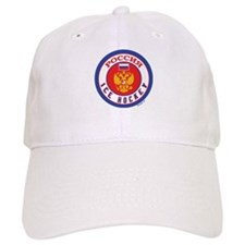 RU Russia/Rossiya Hockey Baseball Cap