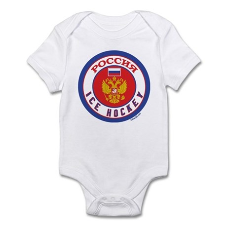 RU Russia/Rossiya Hockey Infant Bodysuit