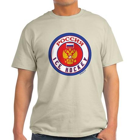 RU Russia/Rossiya Hockey Light T-Shirt