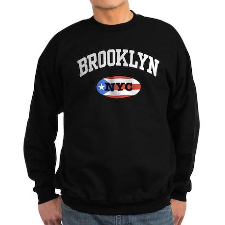 Brooklyn NYC Puerto Rican Sweatshirt (dark)