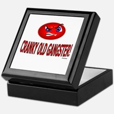 Cranky Old Gangster Keepsake Box