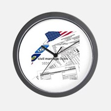 Civil Marriage Game Wall Clock