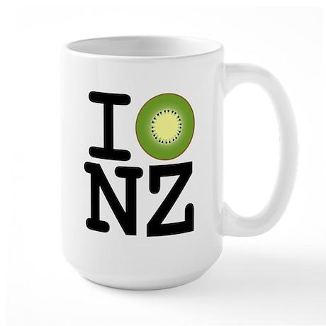 I Kiwi NZ Large Mug