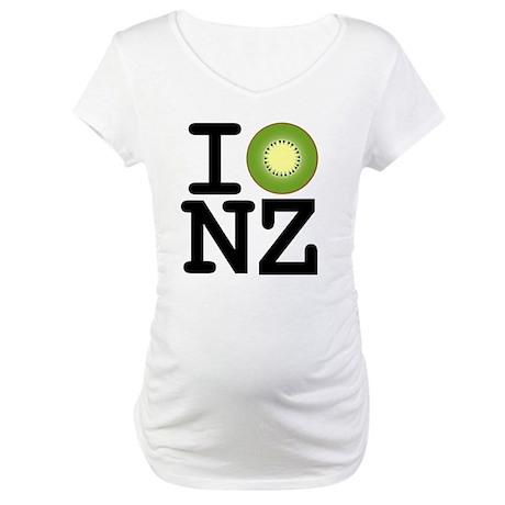 I Kiwi NZ Maternity T-Shirt