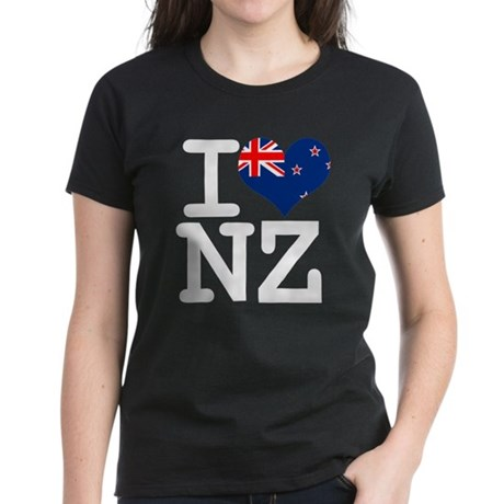 I Heart NZ Women's Dark T-Shirt