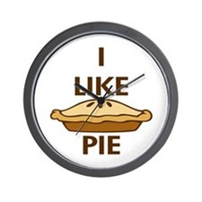 I Like Pie Wall Clock