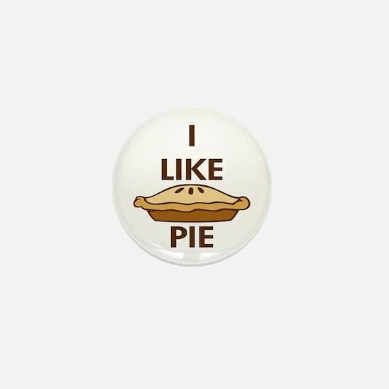 I Like Pie Mini Button