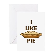 I Like Pie Greeting Card