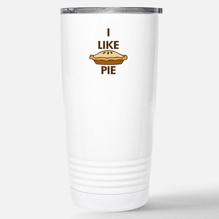 I Like Pie Travel Mug
