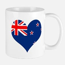 NZ Heart Flag Mug