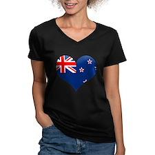 NZ Heart Flag Shirt