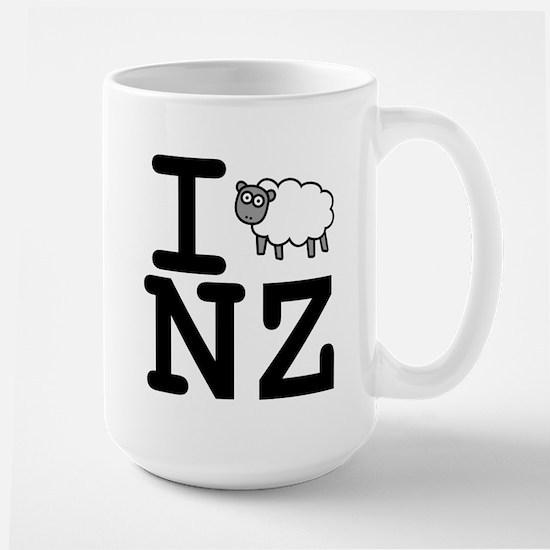 I Sheep NZ Large Mug