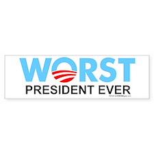 Worst President Ever Bumper Bumper Sticker