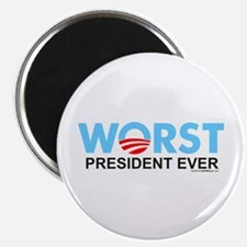 """Worst President Ever 2.25"""" Magnet (10 pack)"""
