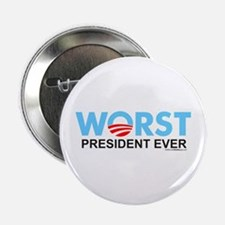 "Worst President Ever 2.25"" Button (10 pack)"
