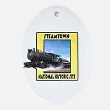 Steamtown National Historic S Oval Ornament