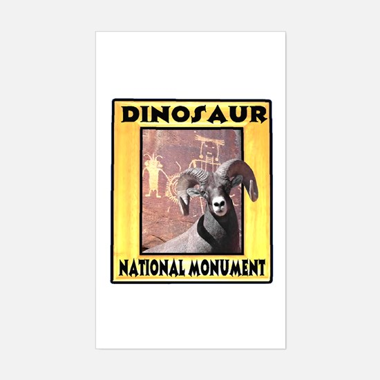 Dinosaur National Monument Rectangle Decal