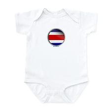 Costa Rica - Heart Infant Bodysuit
