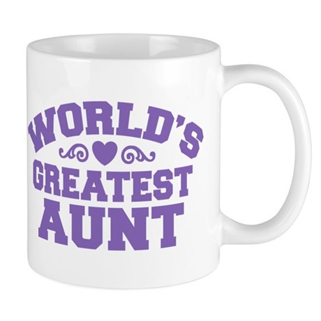 World's Greatest Aunt Mug