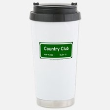 Country Club Travel Mug