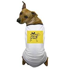 Yellow Tattoo Pit Dog T-Shirt