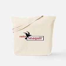 Cute Radio seagull Tote Bag