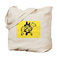 Yellow Tattoo Pit2 Tote Bag