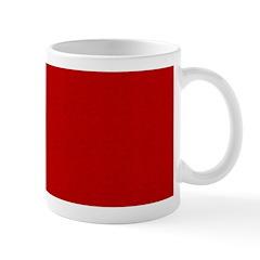 Red Linen Look Mug