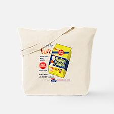 Funny Potato chips Tote Bag