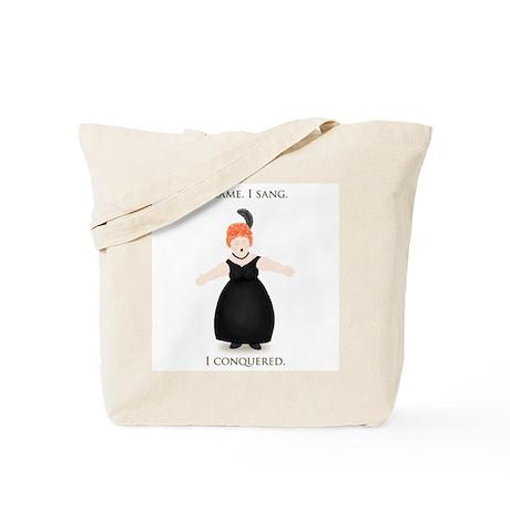Diva Triumphant Tote Bag