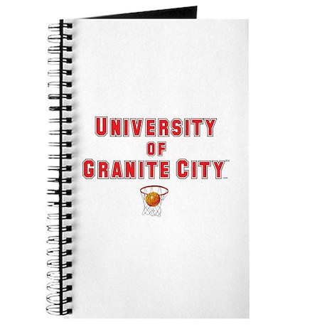 Red & Black Basketball Journal