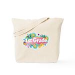 1st Grade Retro Tote Bag