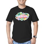1st Grade Retro Men's Fitted T-Shirt (dark)