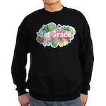 1st Grade Retro Sweatshirt (dark)