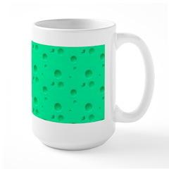 Green Cheese Large Mug