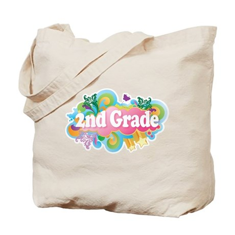 2nd Grade Retro Tote Bag