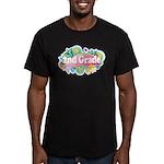 2nd Grade Retro Men's Fitted T-Shirt (dark)