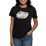 2nd Grade Retro Women's Dark T-Shirt